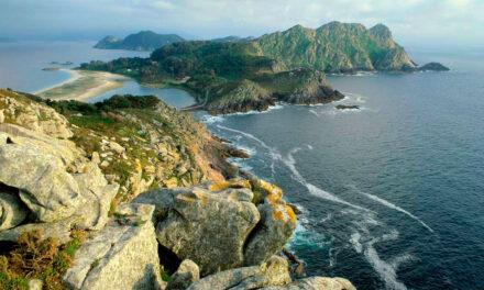 El parque nacional de las islas atlánticas de Galicia
